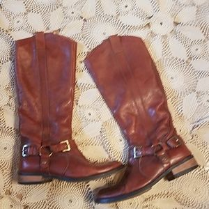 MIZ MOOZ leather riding boots